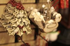 Carved Christmas Ornaments