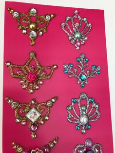 Bling for Face Painting 10 pieces by NadinesDreams on Etsy