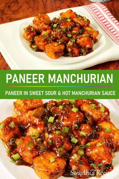 If you love Chinese foods then don't miss this paneer manchurian It is a popular appetizer from the Indian-Chinese cuisine made with paneer aka cottage cheese. The sauce is so delicious and flavorful. Indo Chinese Recipes, Indian Food Recipes, Asian Recipes, Healthy Dinner Recipes, Beef Recipes, Vegetarian Recipes, Cooking Recipes, Cooking Dishes, Vegetarian Cooking