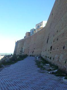Termoli (Cb), mura del Castello Svevo