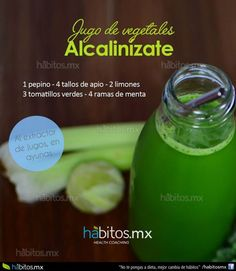 JUGO DE VEGETALES ALCALINIZATE