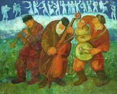 Resultado de imagen de jewish dancers painting