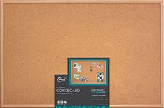 Board Dudes 23 x 35 Wood Style Frame Cork Board CXM86 * Read more  at the image link. (Note:Amazon affiliate link)