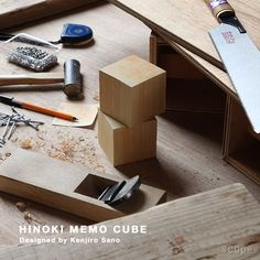nico (ニコ) /  Hinoki Memo Cube With Fragrance