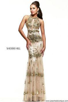 Sherri Hill Prom Dress 9714 at Peaches Boutique