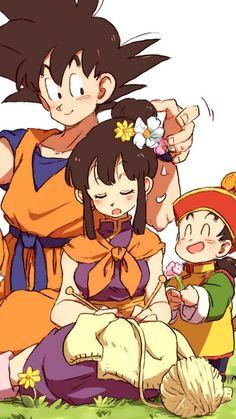 Goku Milk y Gohan