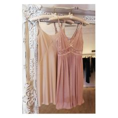Sleep pretty in our spring chemises like these pictured from @wearcommando & @eberjey.  #sleepwear #soft #eberjey #wearcommando #satin #slip #chemise #tldfairhope