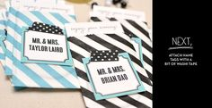 Escort Card DIY #DIY #DIYideas #WeddingDIY