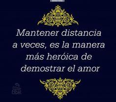 Mantener distancia a ..................................