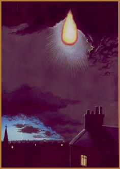 Ball lightning over St. John's Wood, London, 26 June 1921 An incandescent pear-shaped body hovered beneath the clouds of a slow-moving nocturnal thunderstorm. It was visible for at least two minutes.