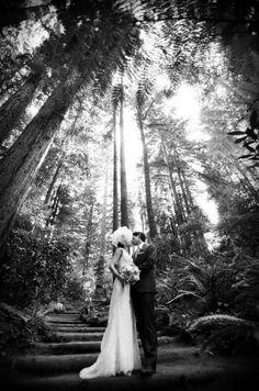 Bride and Groom @Nestldown with photographer @Tanja Heikkilä Lippert. An ethereal shot...