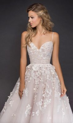 Courtesy of Hayley Paige Wedding Dresses from JLM Couture; Wedding dress idea. #weddingdress