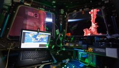 Interior View From the International Space Station Cupola (desktop/laptop)