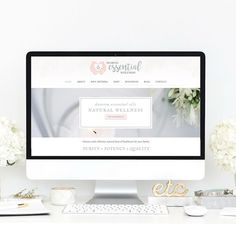 doTERRA essential oils leader blush and sage branding and web design Packaging Design, Branding Design, Logo Design, Website Design Layout, Web Design Agency, Best Web Design, Photography Website, Fashion Branding, Doterra