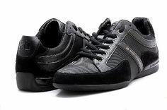 Orange By Hugo Boss Men's Shoes Seattor Black Fashion Sneakers