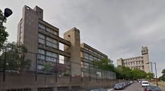 Carradale House - 1967-70 by Ernő Goldfinger - #architecture #googlestreetview #googlemaps #googlestreet #uk #london #brutalism #modernism
