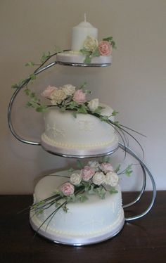 Something To Go With The Metal Ring Toppers 3 Tiered