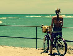 Bike rides at the beach. I seriously need it to be summer now.