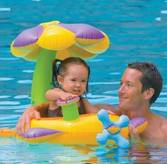 Flower Mushroon PVC Fashion Kids Baby Inflatable Swimming Pool Swim Ring Seat Float Boat Water Accessory S1031