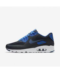 best website 6eb85 56965 Nike Shoes Air Max 90 Ultra Essential Dark Obsidian Hyper Cobalt White  Ocean Fog