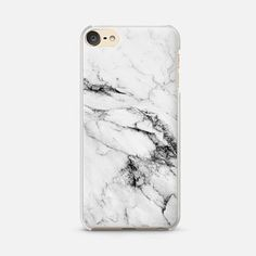 iPod Touch 6 Case Black and White Marble