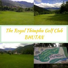 The Royal Thimphu Golf Club is the only golf course in Bhutan that is open to the public. Set in a valley amongst the peaks of the Himalayas this course is located just outside the capital of Bhutan - Thimpu. It is located alongside & above the Trashi Chhoe Dzong (the palace & office of the King & effectively the seat of the government). This is a 9 hole, Par 35 course & can be played as a18 hole, 5851 yard, Par 70 course from 2 different sets of tees.  #featuredgolfcourse