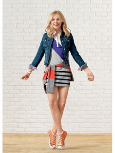 Chloë Grace Moretz in Aéropostale's 2012 back-to-school campaign