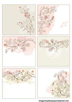 Delicadas etiquetas para ramos de flores