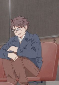 รูปภาพ gif, third season, and oikawa tooru