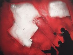 """""""No Surrender"""" by Painted and released in as part of the artwork for UNKLE's """"War Stories"""" album. It was also sold as a art print from P.W in priced at in a edition of 25 copies only. Scrapbooks, Art Work, War, Paintings, Icons, Album, Art Prints, Inspiration, Plastic"""
