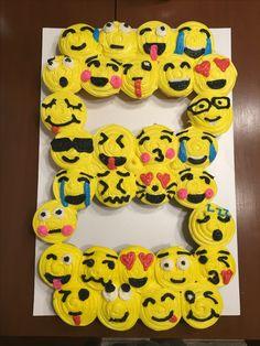 Emoji 8 Cupcake Cake Cook S Creations Pinterest Cake