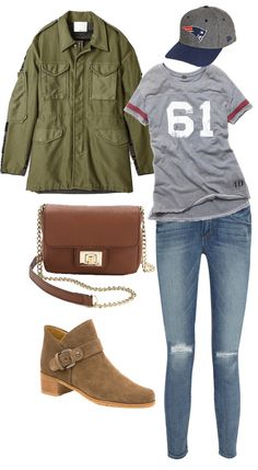 If Watching Football Means an Outfit This Good, Count Us In!
