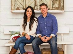 Joanna and Chip at home Fixer Upper