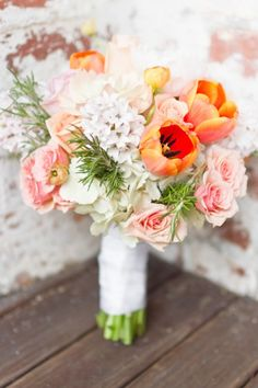 gorgeous bouquet, love those parrot tulips http://www.andimansphotography.com
