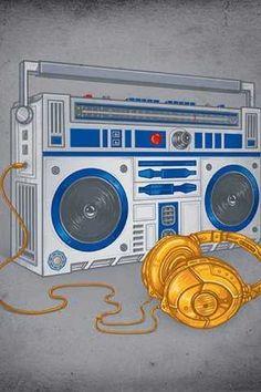 Radios, Poste Radio, Hip Hop Radio, Hip Hop Art, Music Wallpaper, Boombox, Trendy Tattoos, Star Wars Art, Urban Art