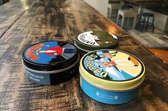 Line up selection from Dappers Grooming Co.  Every Piece is Masterpiece! http://ift.tt/1ITxMRc . #dapperspomade #gentleman #grooming #collection #musthave #product