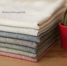 YarndyedCotton Linen Fabric/ Linen/ Natural by seasonalsupplies, $6.40