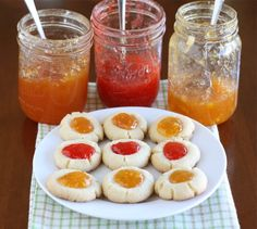 quick and easy thumbprint cookies