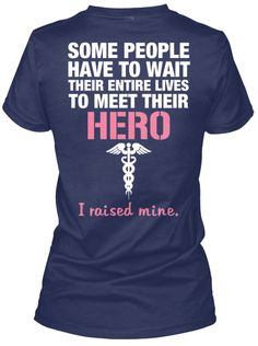 THE NURSE'S MOM - Nurses are heroes, and this shirt is a perfect reflection of how proud the Mom of a nurse is. Click the image to get one today.