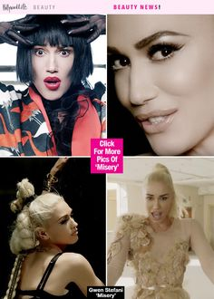 Gwen Stefani's Sexy Beauty Looks In New 'Misery' MusicVideo