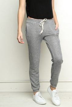Brandy ♥ Melville | Rosa Sweatpants - Pants - Bottoms - Clothing 35.00