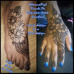 Henna design that match are all too sexy