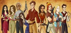 firefly tv show | IT'S HAPPENING! 'Firefly' Actors Reunite for Online Role-Playing ...