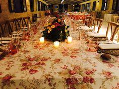 Mesa alargada banquete