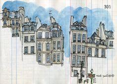 rue saint antoine by lapin barcelona, via Flickr