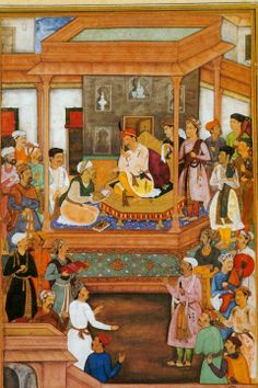 The Din-i Ilahi was a syncretic religion propounded by the Mughal emperor Akbar the Great in 1582 AD, intending to merge the best elements of the religions of his empire, and thereby reconcile the differences that divided his subjects. The elements were primarily drawn from Islam and Hinduism, but some others were also taken from Christianity, Jainism and Zoroastrianism. Read more on Guiddoo  http://www.guiddoo.com/
