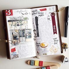 Journal notebook, journals, notebooks, travel journal pages, journal layout Travel Journal Pages, Journal Notebook, Daily Journal, Sketch Journal, Journal Layout, Art Doodle, Travel Sketchbook, Bullet Journal Inspiration, Journal Ideas