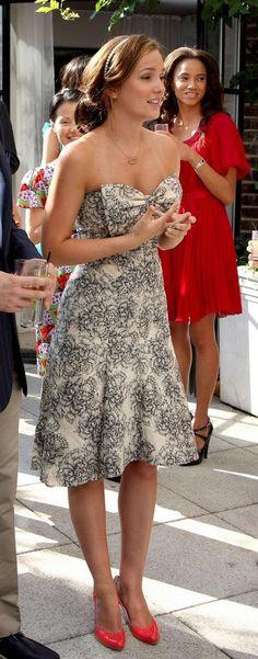 Blair Waldorf #gossipgirl #strapless