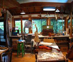 studio of luthier Leroy Douglas