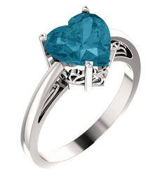 8mm London Blue Topaz Sterling Silver Heart Ring | applesofgold.com Garnet Jewelry, Amethyst Jewelry, Garnet Rings, Heart Jewelry, Jewelry Rings, Amethyst Rings, Jewelry Art, Pink Topaz Ring, Citrine Ring